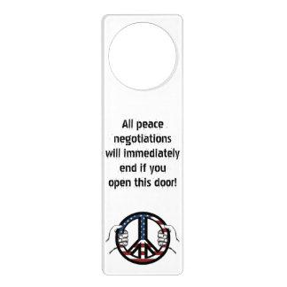 Peace Negotiations Door Hanger