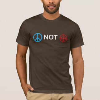 Peace Not Gun Sights T-Shirt