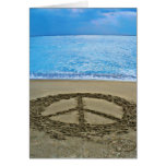 Peace note card
