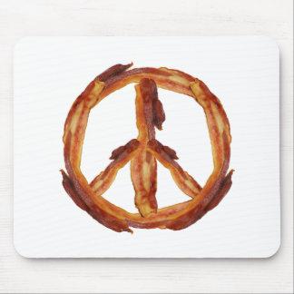 Peace Of Bacon Mousepad
