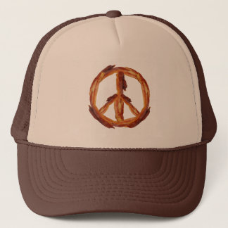 Peace Of Bacon Trucker Hat