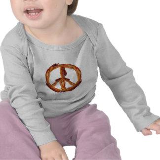 Peace Of Bacon Tee Shirt