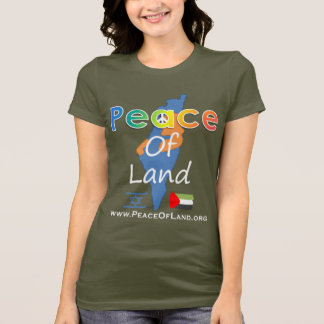 Peace Of Land Woman's Dark Color T's T-Shirt
