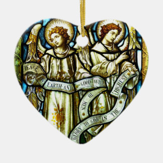 Peace on Earth Angels Christmas Ornament