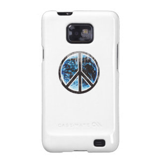 peace on earth black Faded.png Galaxy S2 Cover