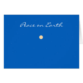 """""""Peace on Earth"""" Card"""