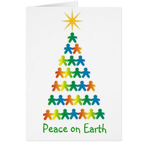 Peace on Earth card | Zazzle