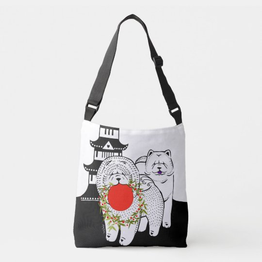 PEACE ON EARTH - Chow tote and crossbody