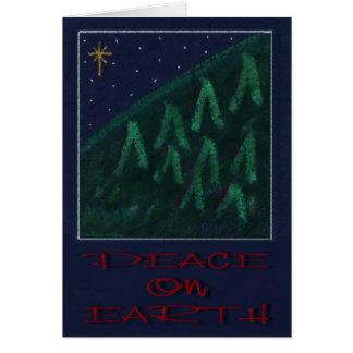 """Peace On Earth"" Christmas card by Zoltan Buday"