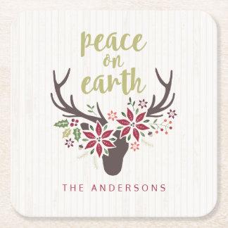 Peace on Earth Coasters