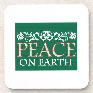Peace On Earth Drink Coasters
