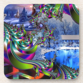 Peace On Earth Drink Coasters