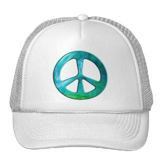 Peace On Earth Day Trucker Hats