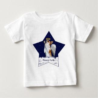 Peace on Earth Dott Angel Baby T-Shirt