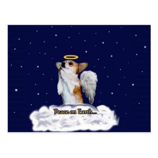 Peace on Earth Dott Angel Postcard