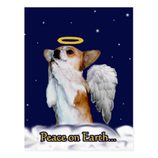 Peace on Earth Dott Angel Postcard