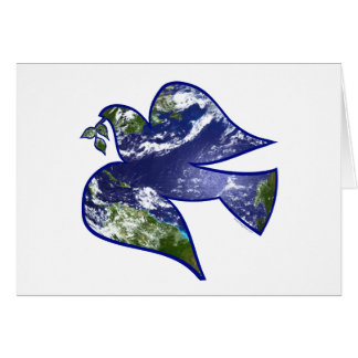 Peace on Earth Dove Card