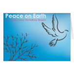 Peace on Earth Dove Greeting Card