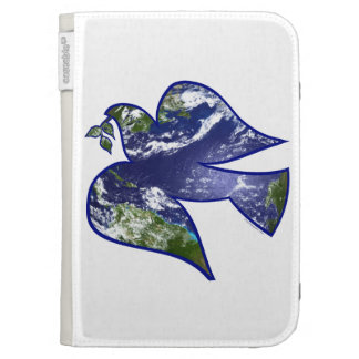 Peace on Earth Dove Kindle Keyboard Case