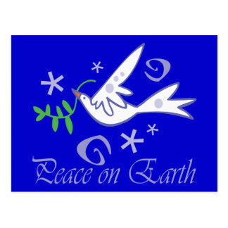 Peace on Earth Dove Postcard