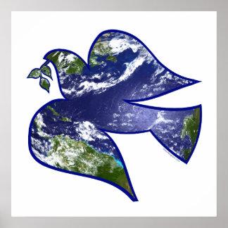 Peace on Earth Dove Print
