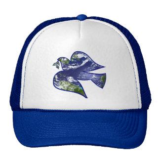 Peace on Earth Dove Trucker Hats