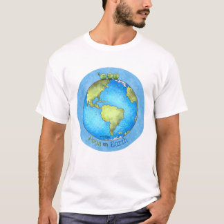 Peace on Earth - Earth day T-Shirt