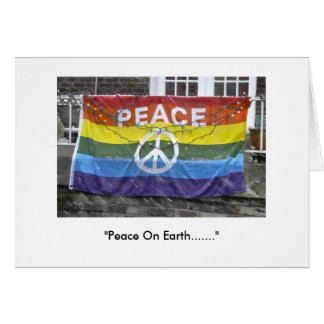 """Peace on Earth"" Greeting Card"