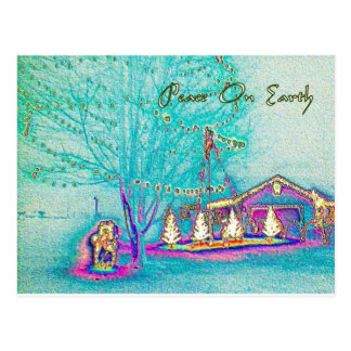 Peace On Earth Holiday Gifts Postcard