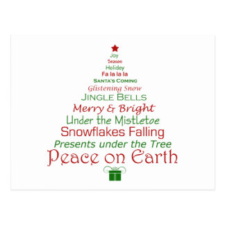 Peace on Earth Holiday Postcard