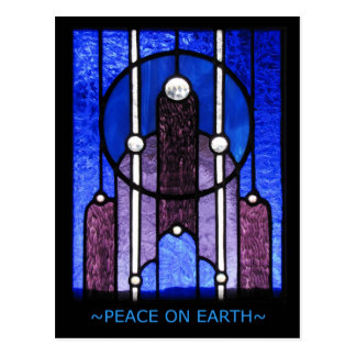 Peace on Earth - Holiday Postcard