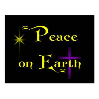 Peace On Earth horizontal Postcards
