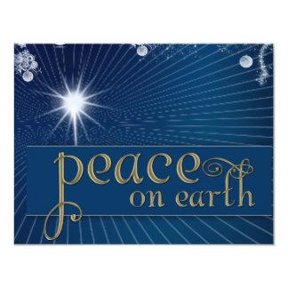 Peace on earth ... in heavenly peace card