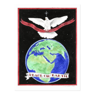 Peace on Earth Inspirational Postcard