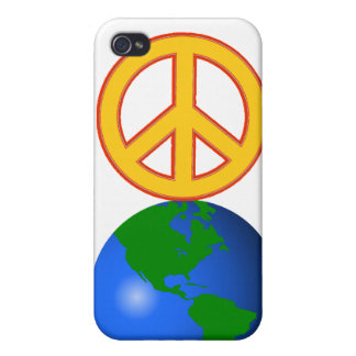 Peace On Earth iPhone 4 Cover