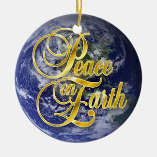 Peace on Earth John 14:27 Christmas Ornament