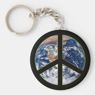 Peace On Earth Key Chain