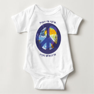 Peace on Earth...Midwife Special Baby Bodysuit