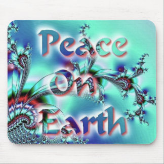 Peace On Earth Mouse Pad