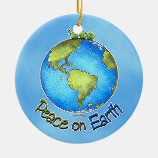 Peace on Earth - ornament