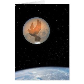Peace on Earth Peace Dove – Hubble Space Telescope Greeting Card