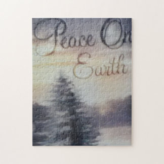 Peace On Earth Photo Puzzle with Gift Box