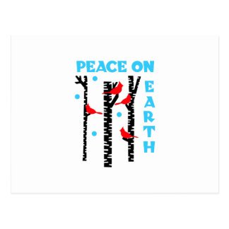 Peace On Earth Postcard