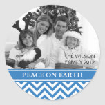Peace on Earth Round Stickers