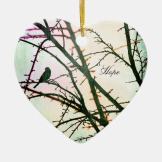 Peace on Earth~Song of Hope Christmas Ornament
