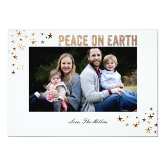 Peace on Earth Stars Card