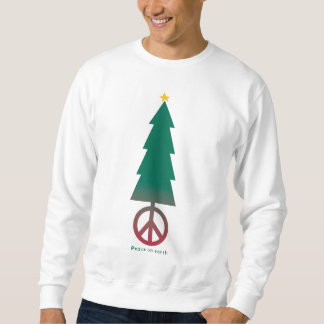 Peace on earth. sweatshirt