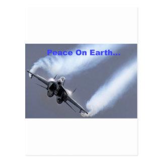 Peace On Earth...Through Air Superiority Postcards