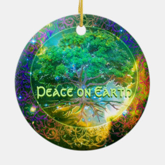 Peace on Earth - Tree of Life Wellness Christmas Ornament