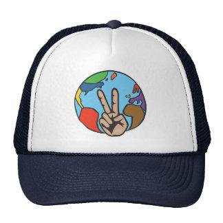 Peace on Earth Trucker Hats